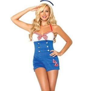 High Seas Captain Sailor Costume Cosplay